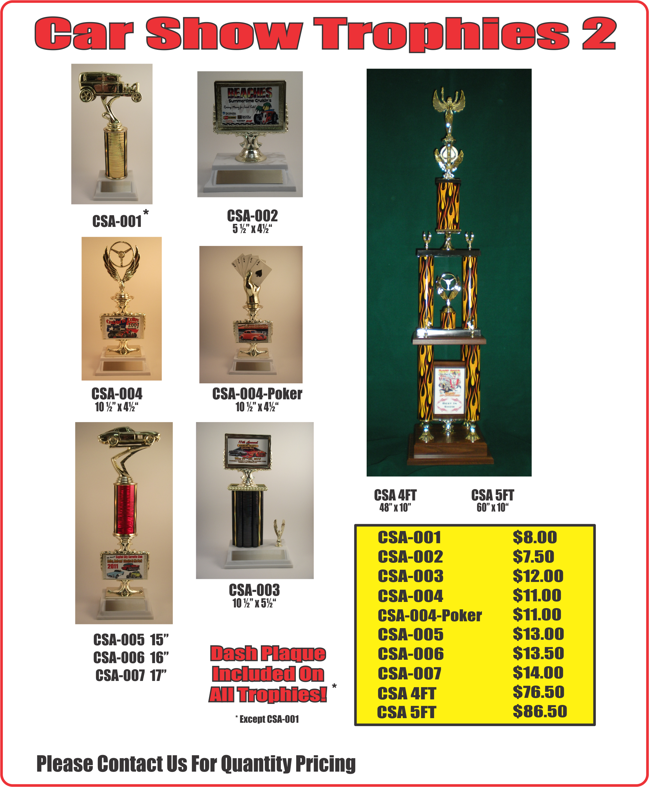 Trophies page 6